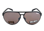 Call of Duty Black Aviator Sunglasses with Copper Contrast Sun Lens