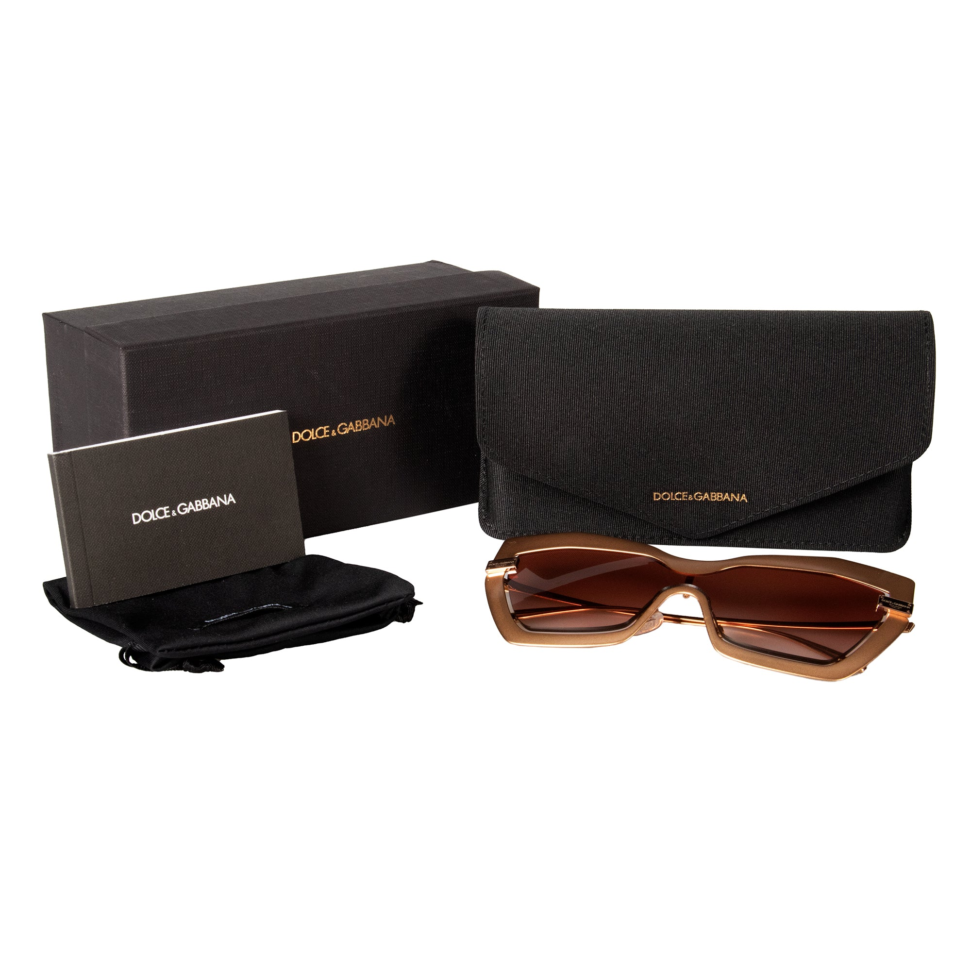 Dolce and Gabbana DG2224 133013 34 Cat Eye Sunglasses