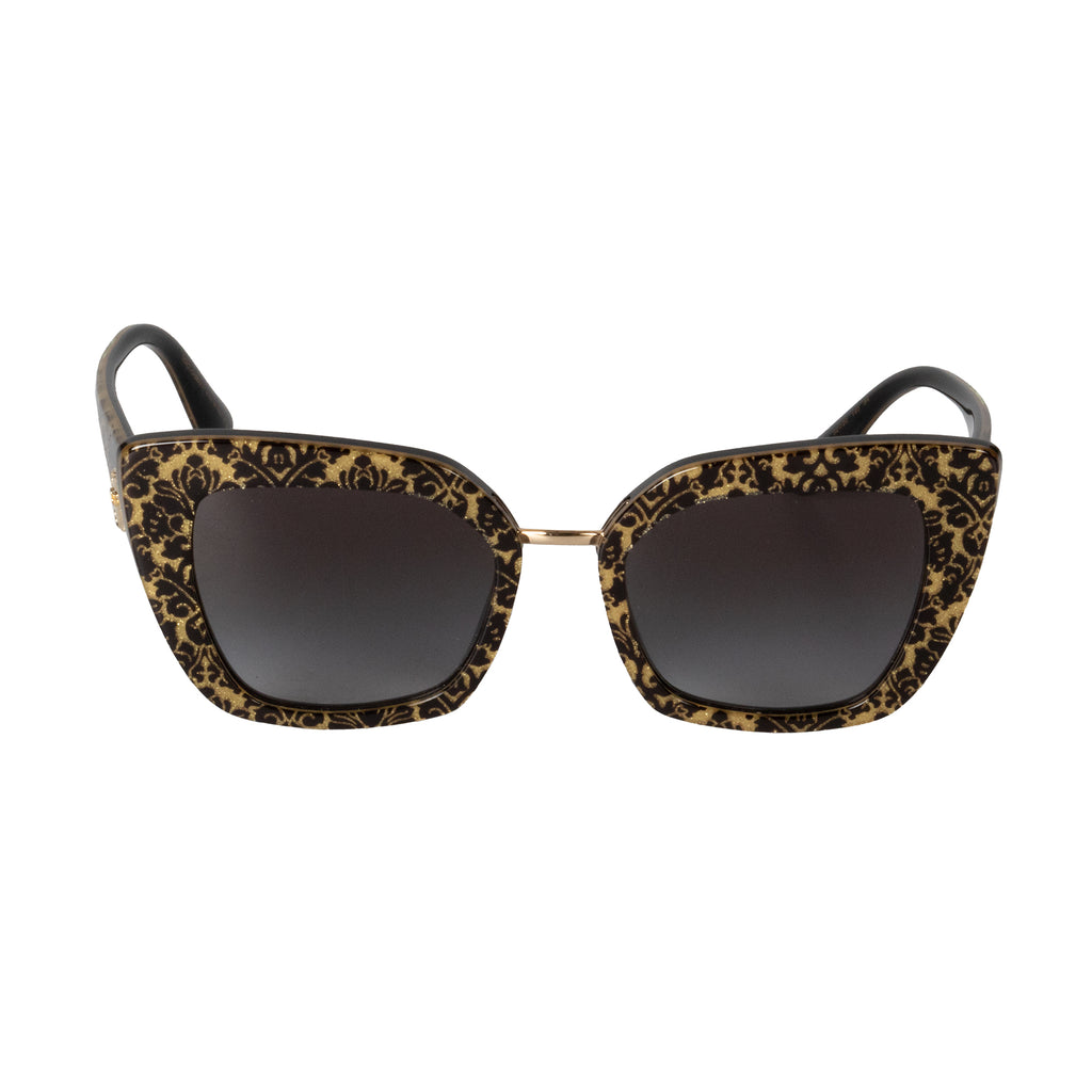 Dolce and Gabbana DG4359 3214/8G 52 Butterfly Sunglasses