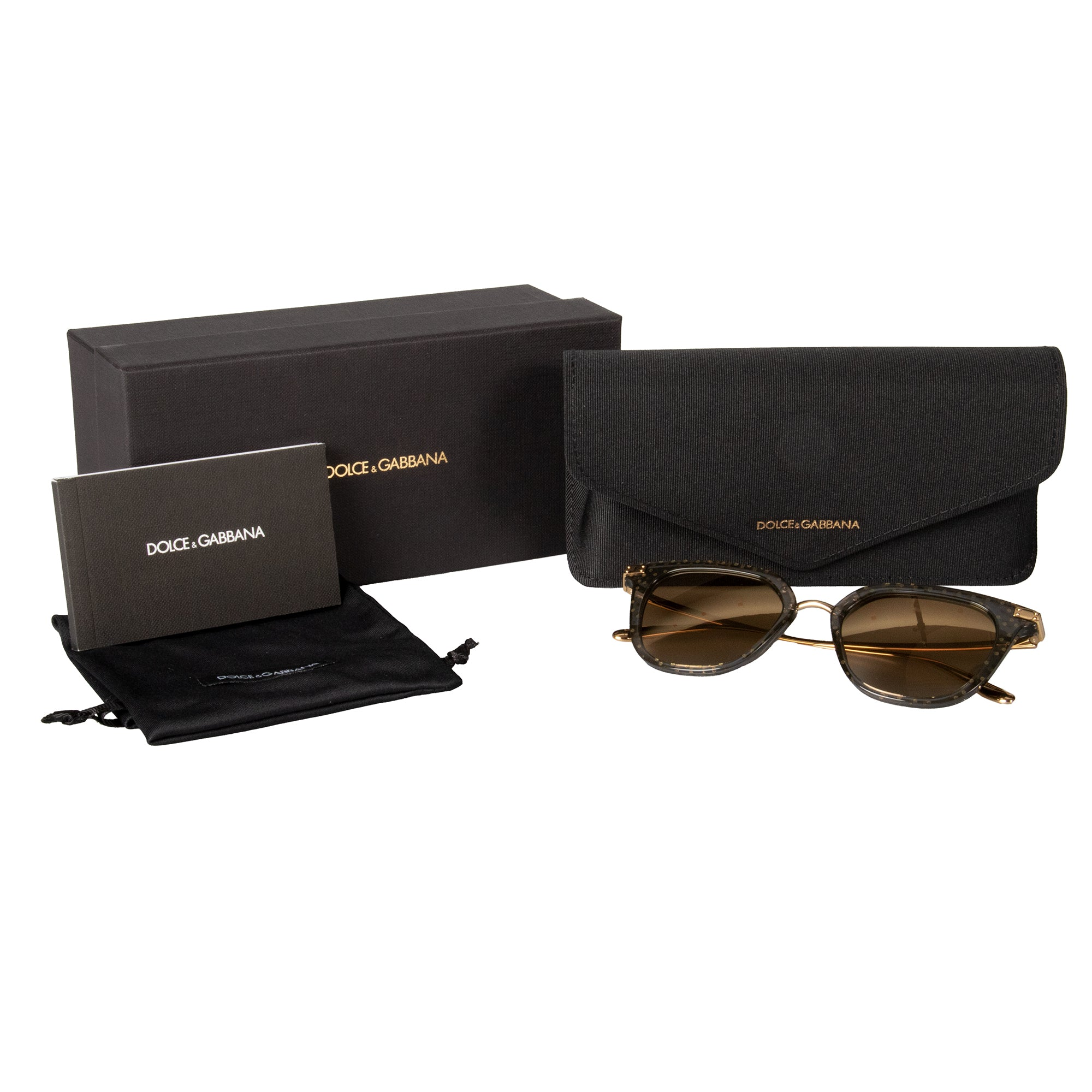 Dolce and Gabbana DG4363 3210/6E 50 Panthos Sunglasses