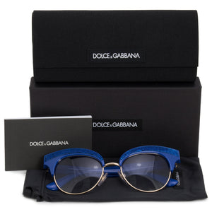 Dolce & Gabbana Cat Eye Sunglasses DG6109 312219 50
