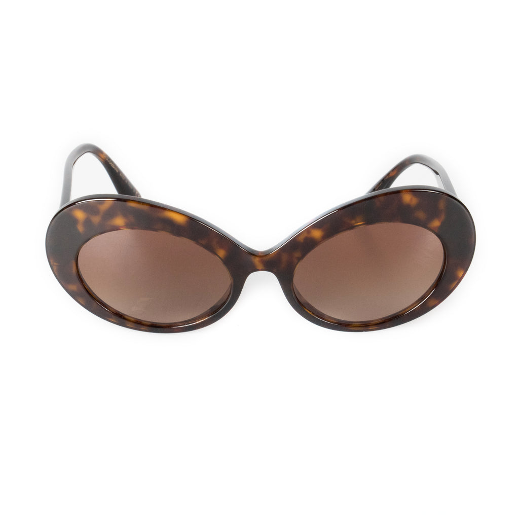 Dolce and Gabbana DG4345 502/13 55 Oval Sunglasses