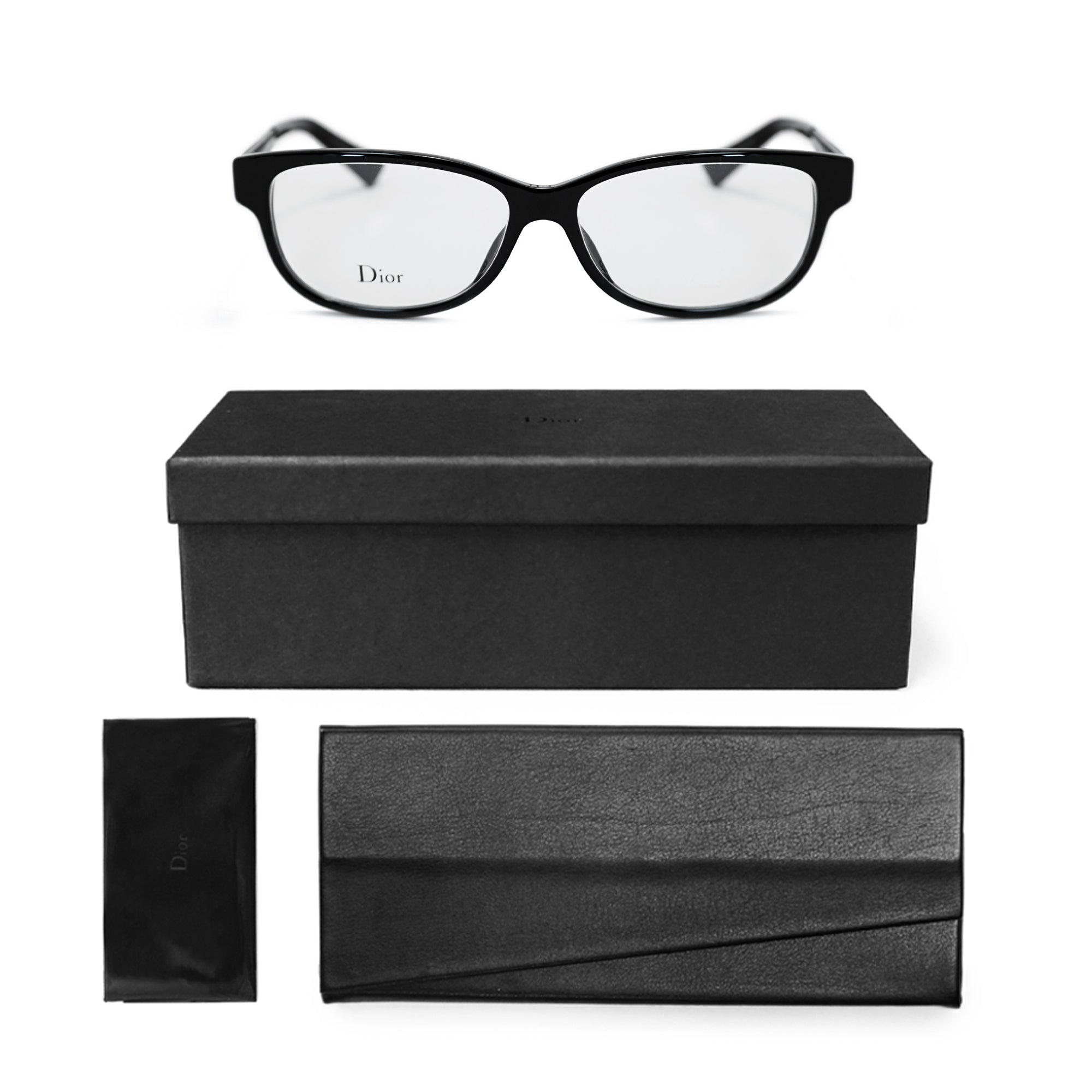 Christian Dior Square Glasses Christian Diorama O1 F0016 53