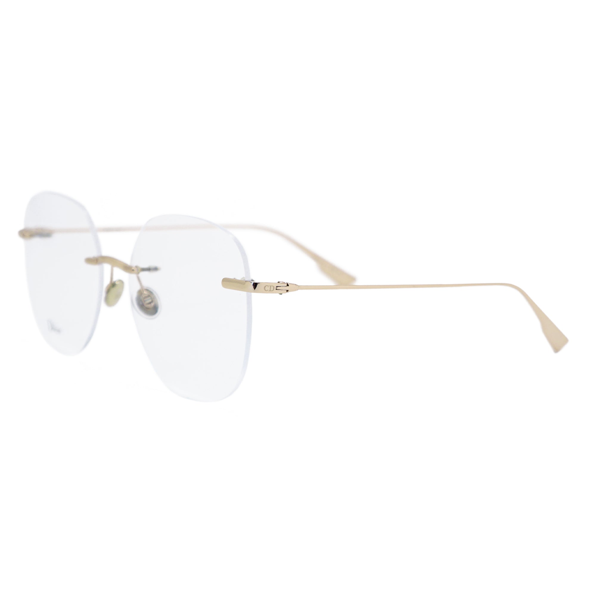Christian Dior Square Rimless Glasses Stellaire  O6 J5G16 56