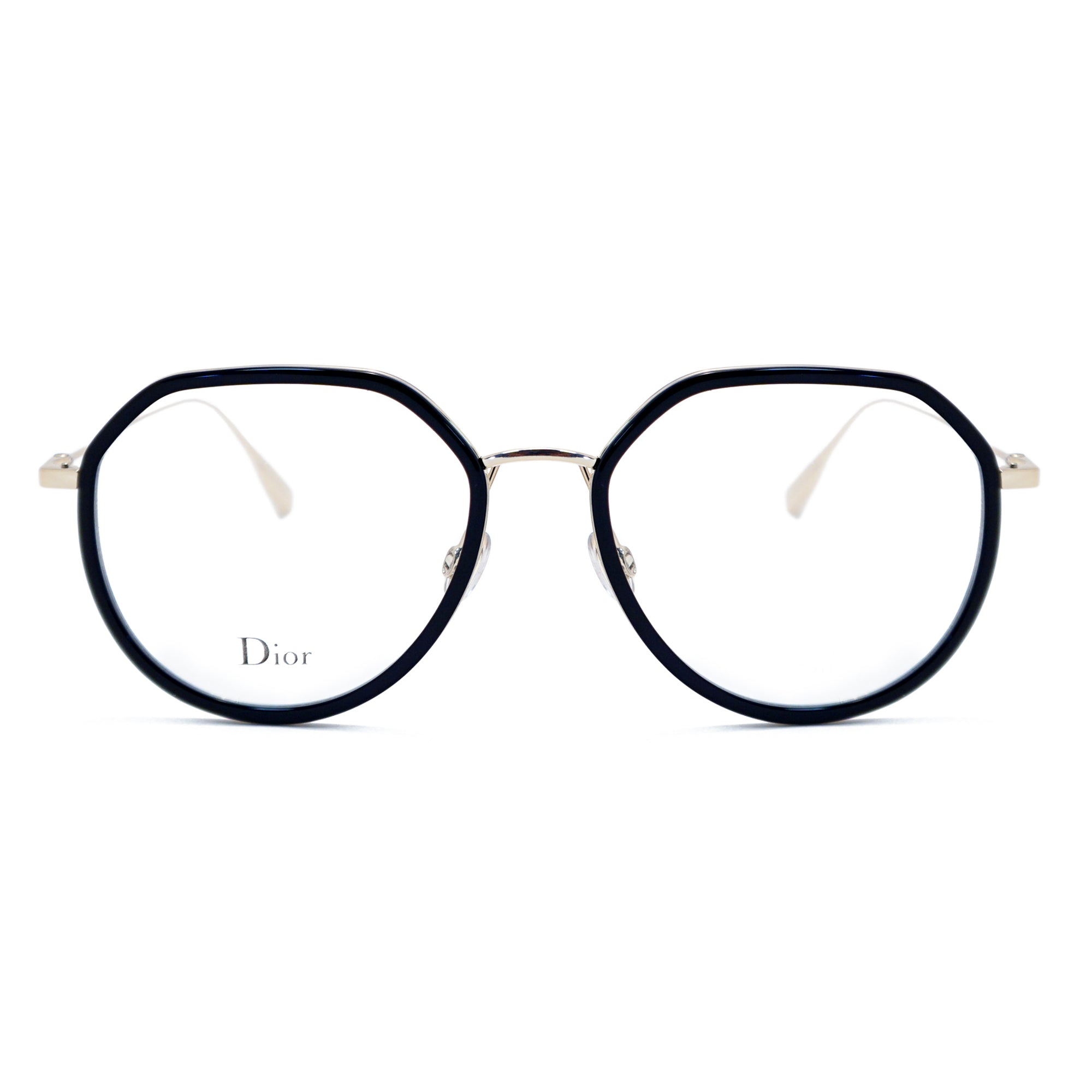 Christian Dior Round Glasses Stellaire O9 2M218 52