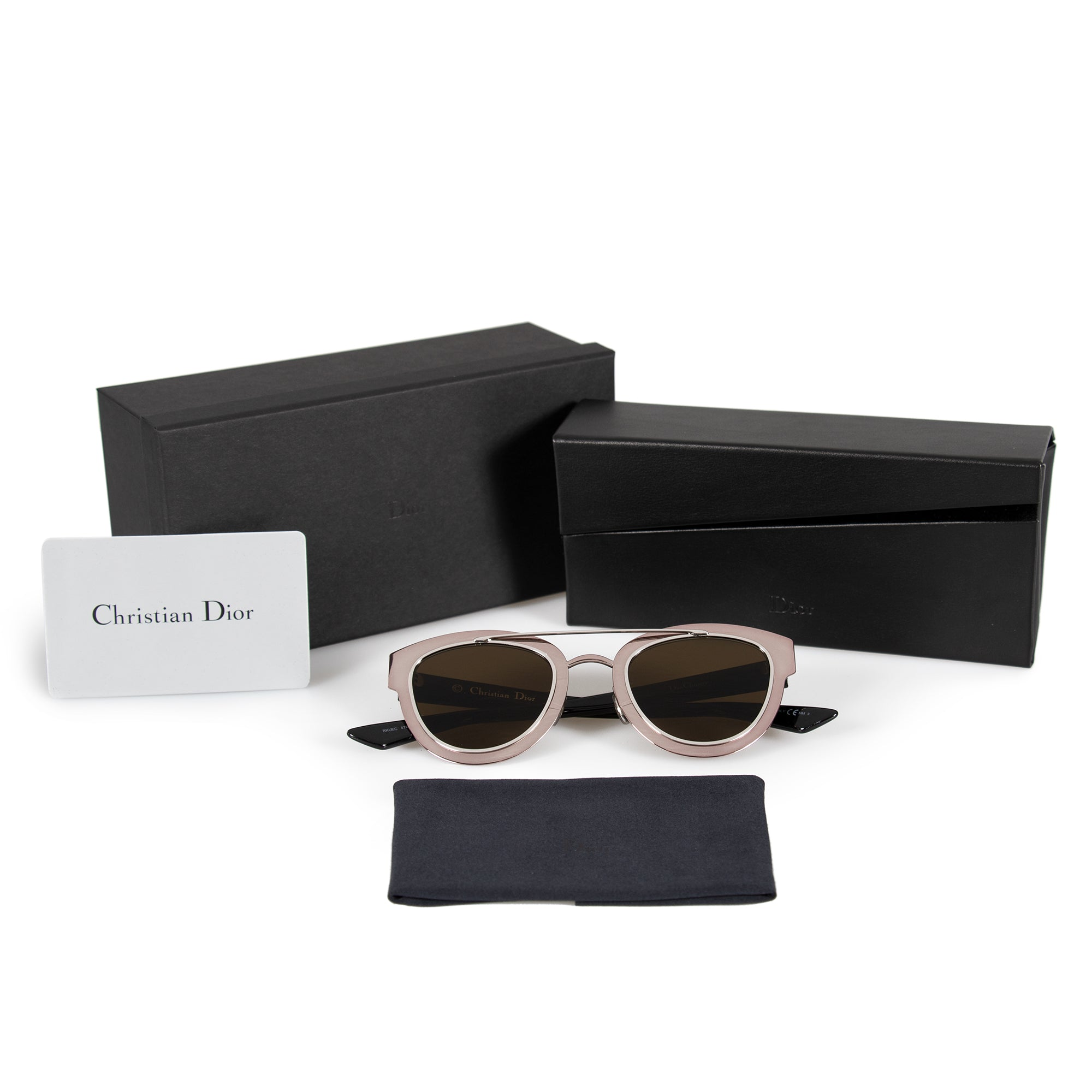 Christian Dior Chromic RKUEC 47 Cat Eye Sunglasses