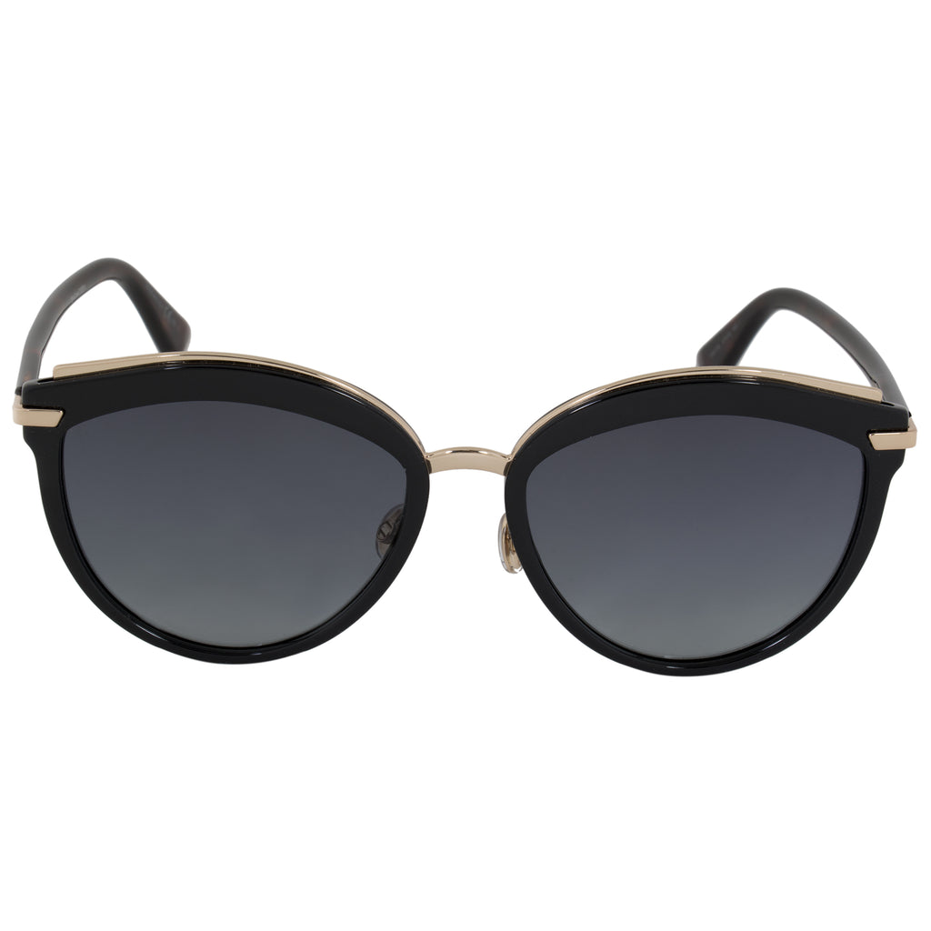 Christian Dior Offset Sunglasses WR786 57 | Black Frame | Grey Gradient Lenses