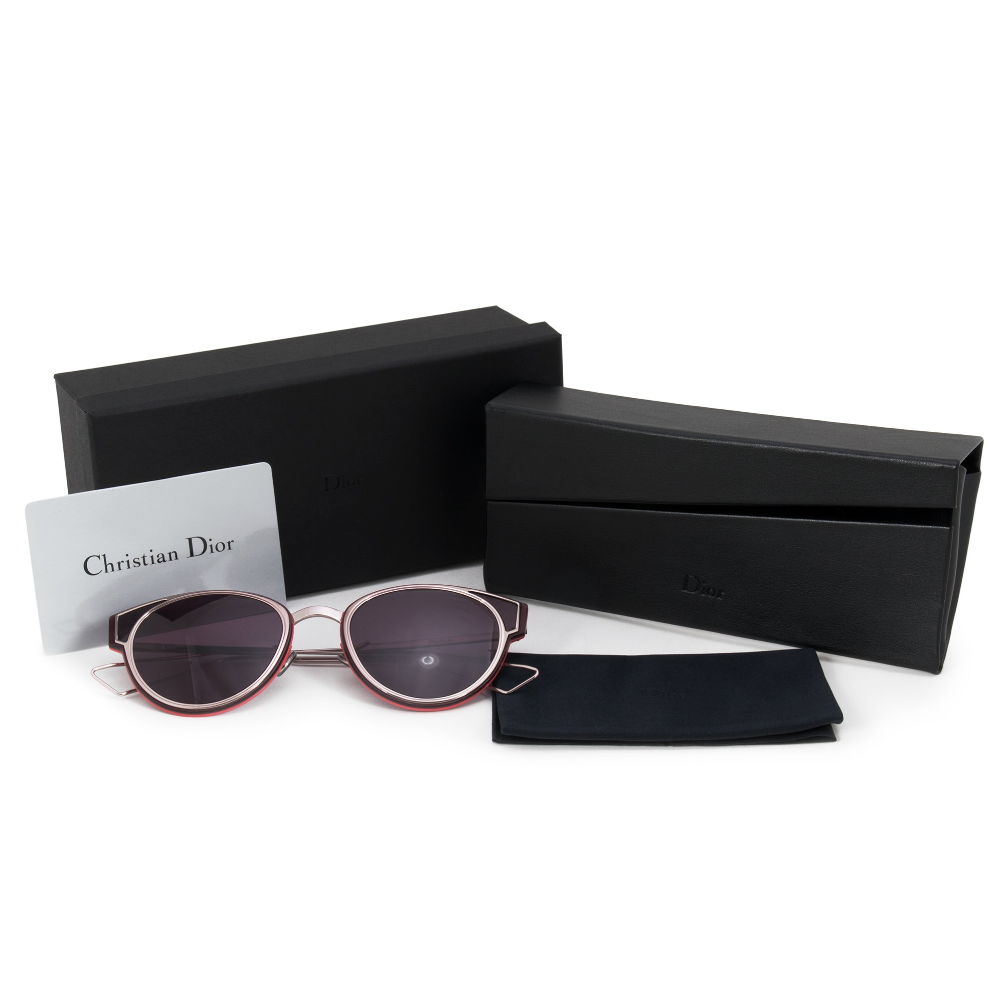 Christian Dior Sculpt Cat Eye Sunglasses R7U/C6 63