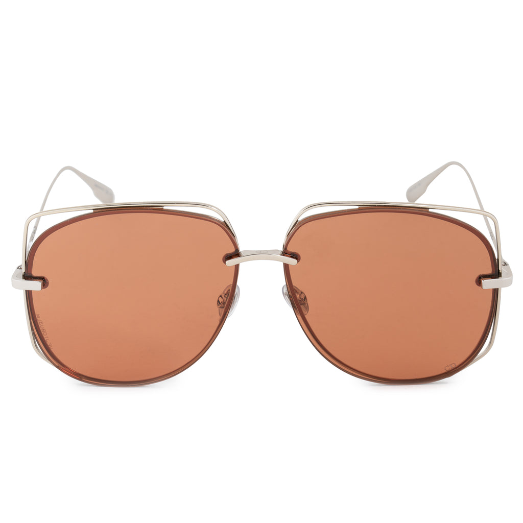 Christian Dior Stellaire 6 3YG 2M 61 Aviator Sunglasses