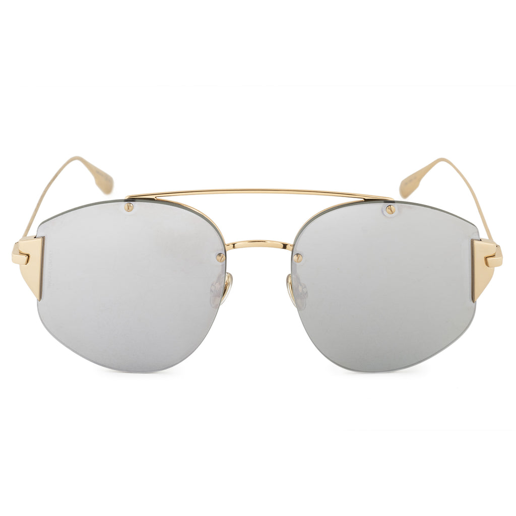 Christian Dior Stronger 000 DC 58 Aviator Sunglasses