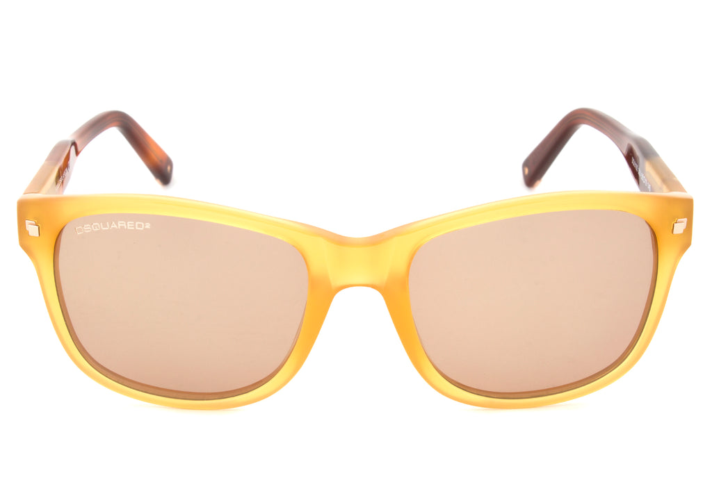 DSquared DQ0105 39J Sunglasses | Caramel Frame | Brown Lens