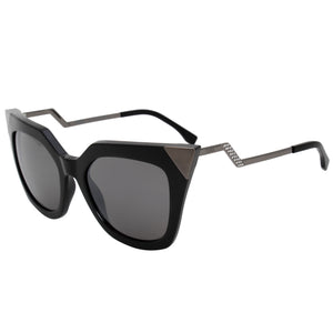 Fendi Cat Eye Sunglasses FF0060S KKL SF 52