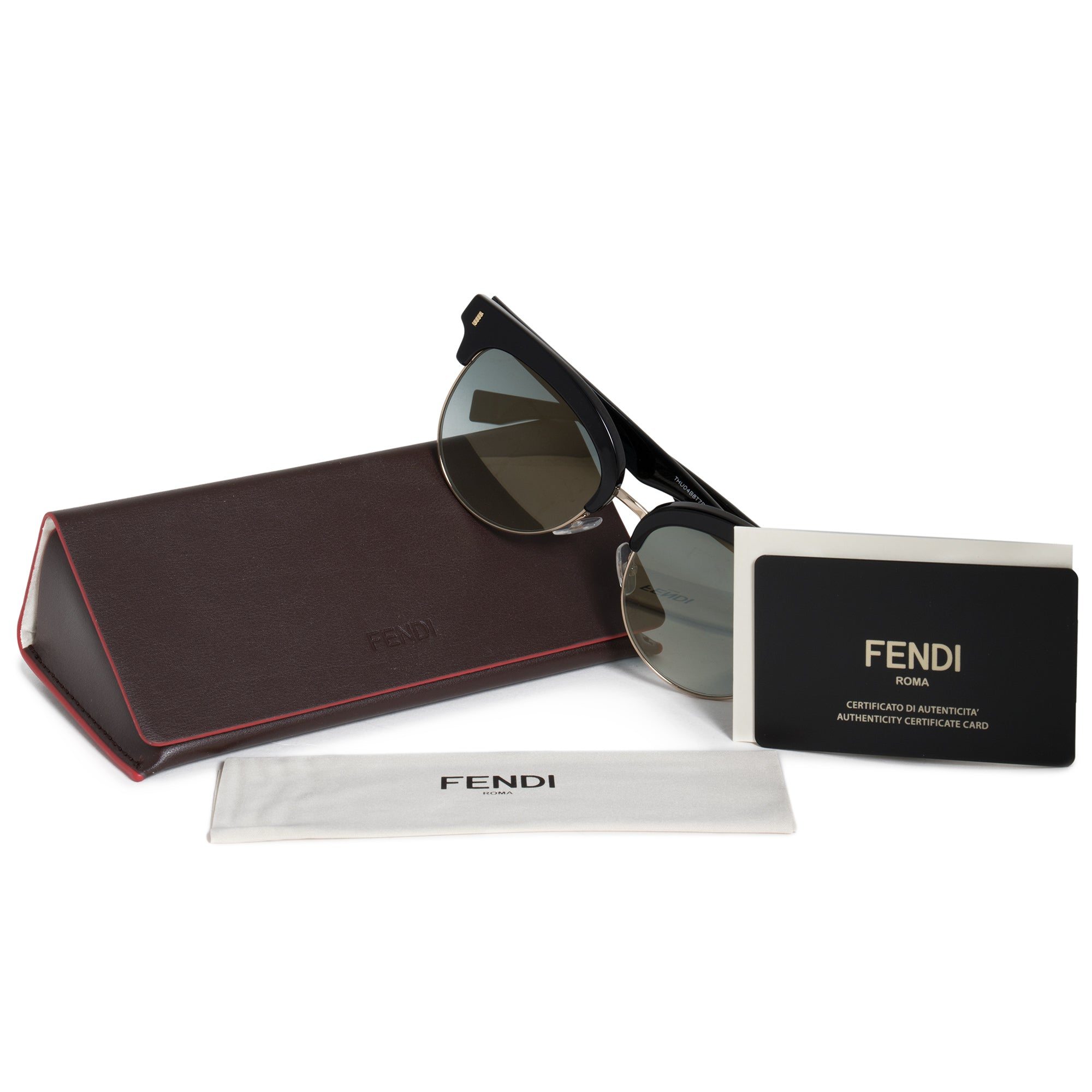 Fendi Square Sunglasses FF0154S VJG EZ 54