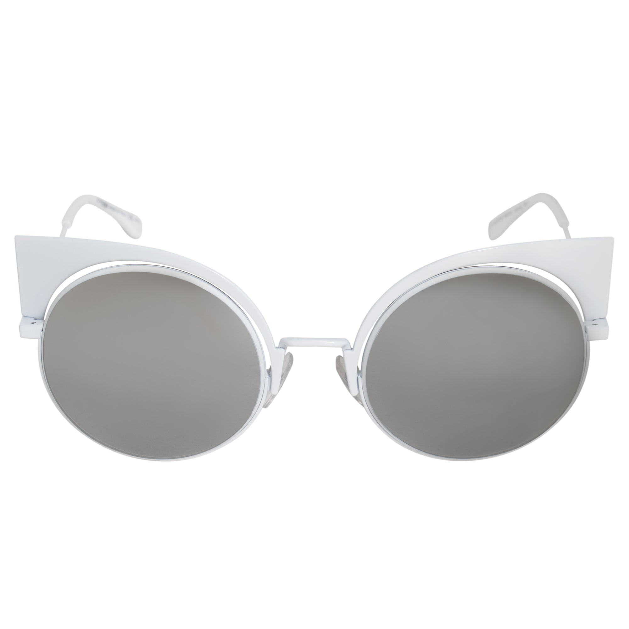 Fendi Eyeshine Cat Eye Sunglasses FF0177S DMV SS 53