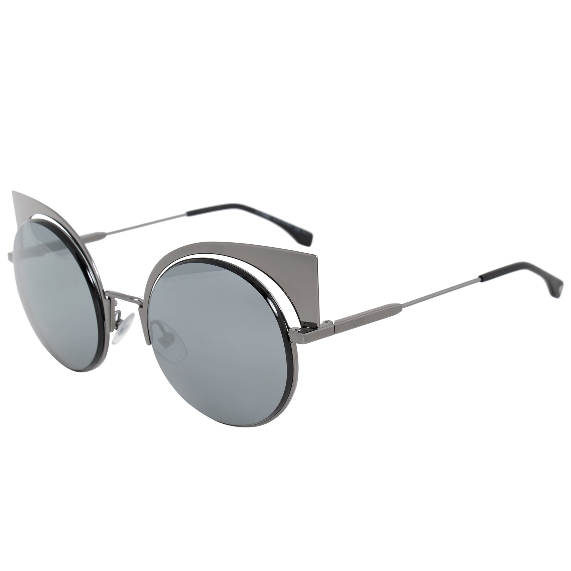 Fendi Eyeshine Cat Eye Sunglasses FF0177S KJ1 T4 53
