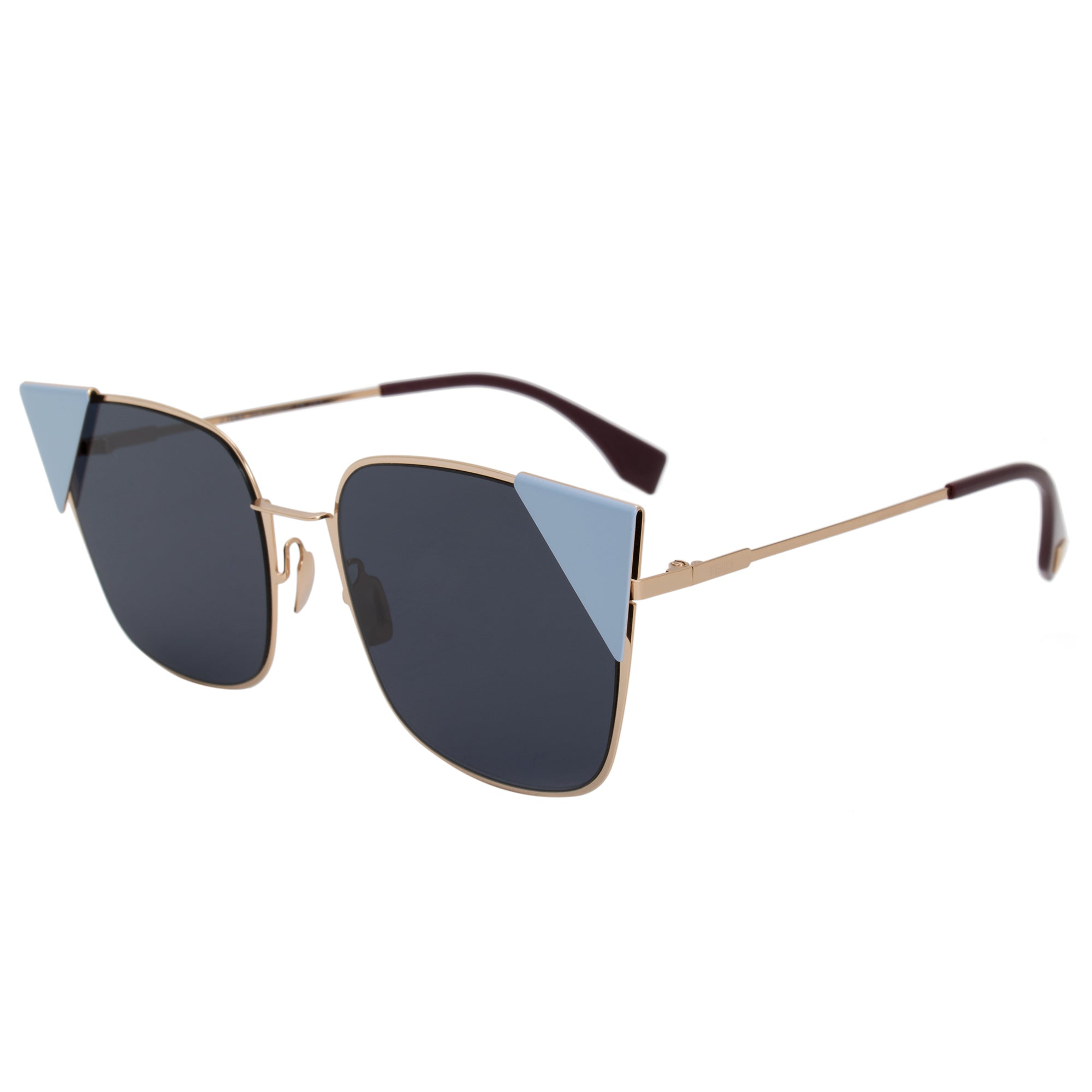 Fendi Lei Square Sunglasses FF0191S 000 A9 55