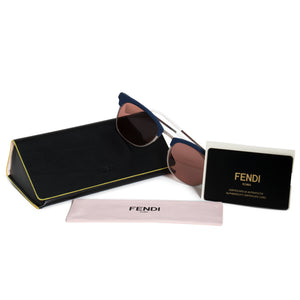 Fendi Square Sunglasses FF0228S J2B 4S 50