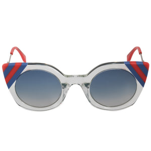 Fendi Waves Butterfly Sunglasses FF0240S 1ED UY 47