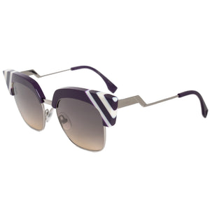 Fendi Waves Square Sunglasses FF0241S B3V GA 50