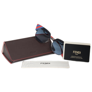Fendi Waves Square Sunglasses FF0241S PJP 08 50