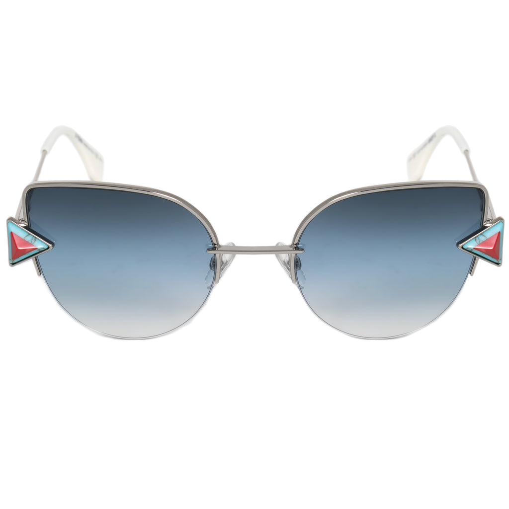 Fendi Rainbow Cat Eye Sunglasses FF0242S SCB NE 52