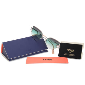 Fendi Rainbow Cat Eye Sunglasses FF0242S VGV QC 52