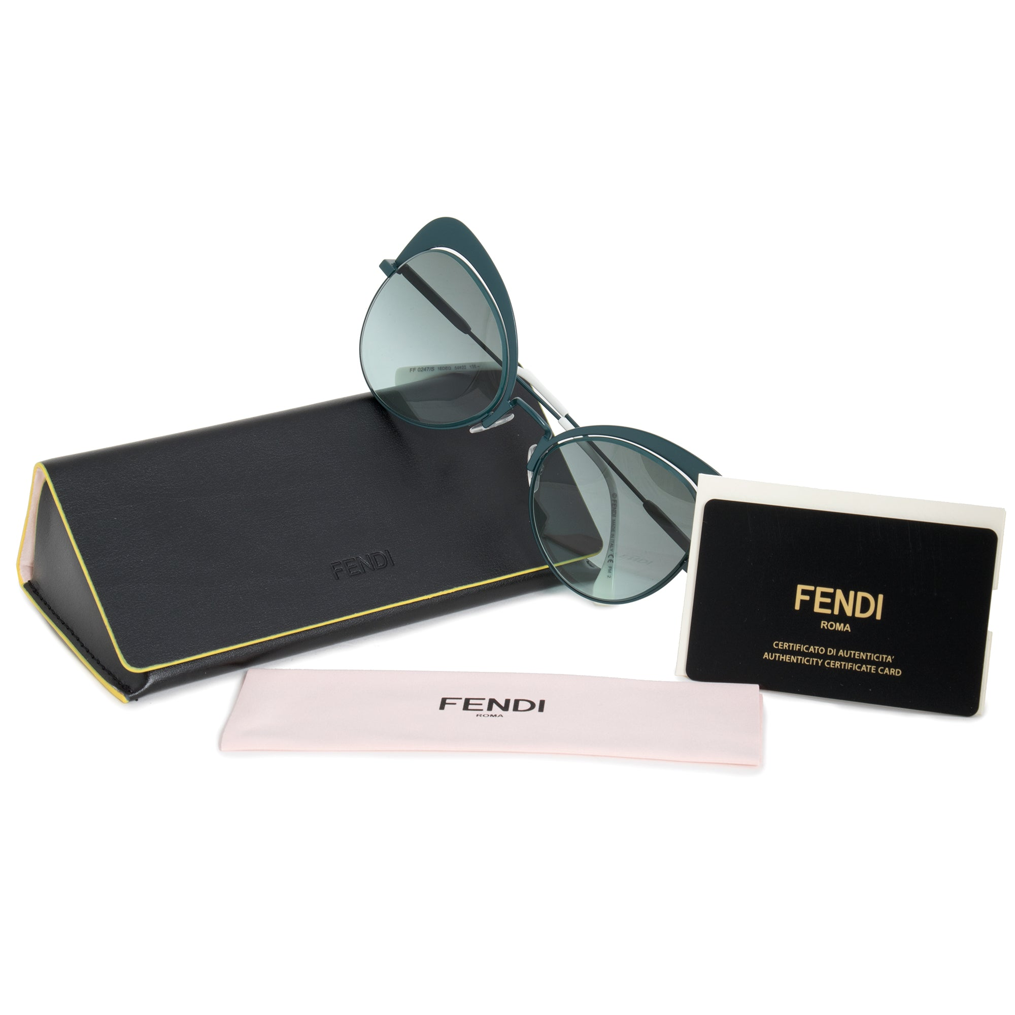 Fendi Eyeshine Butterfly Sunglasses FF0247S 1ED EQ 54