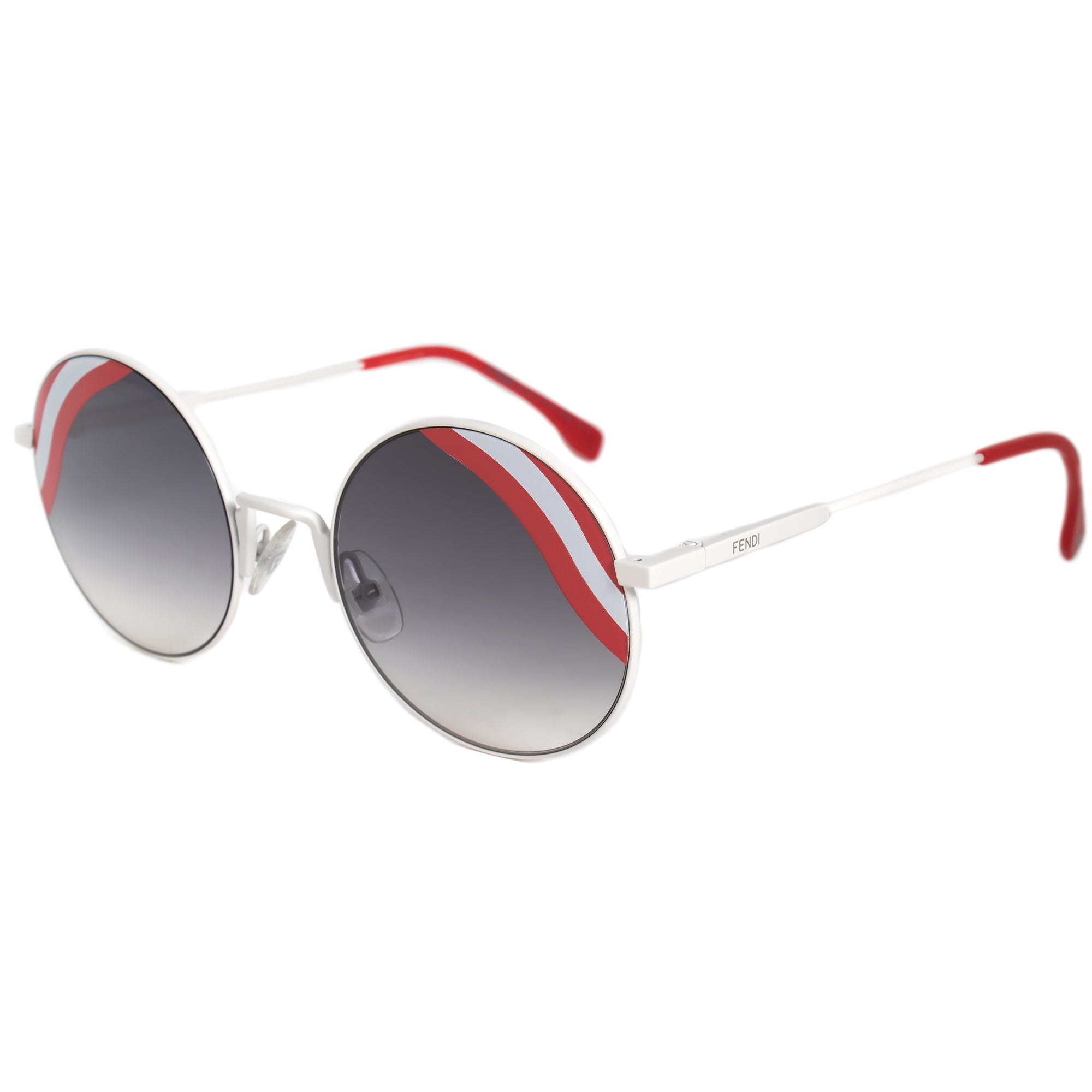 Fendi Waves Round Sunglasses FF0248S VK6 9O 53