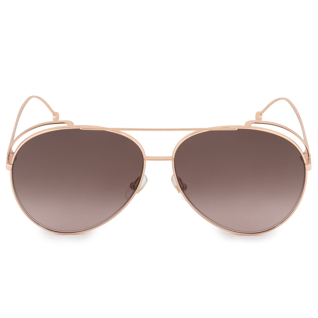 Fendi Run Away FF 0286/S DDB/HA 63 Aviator Sunglasses