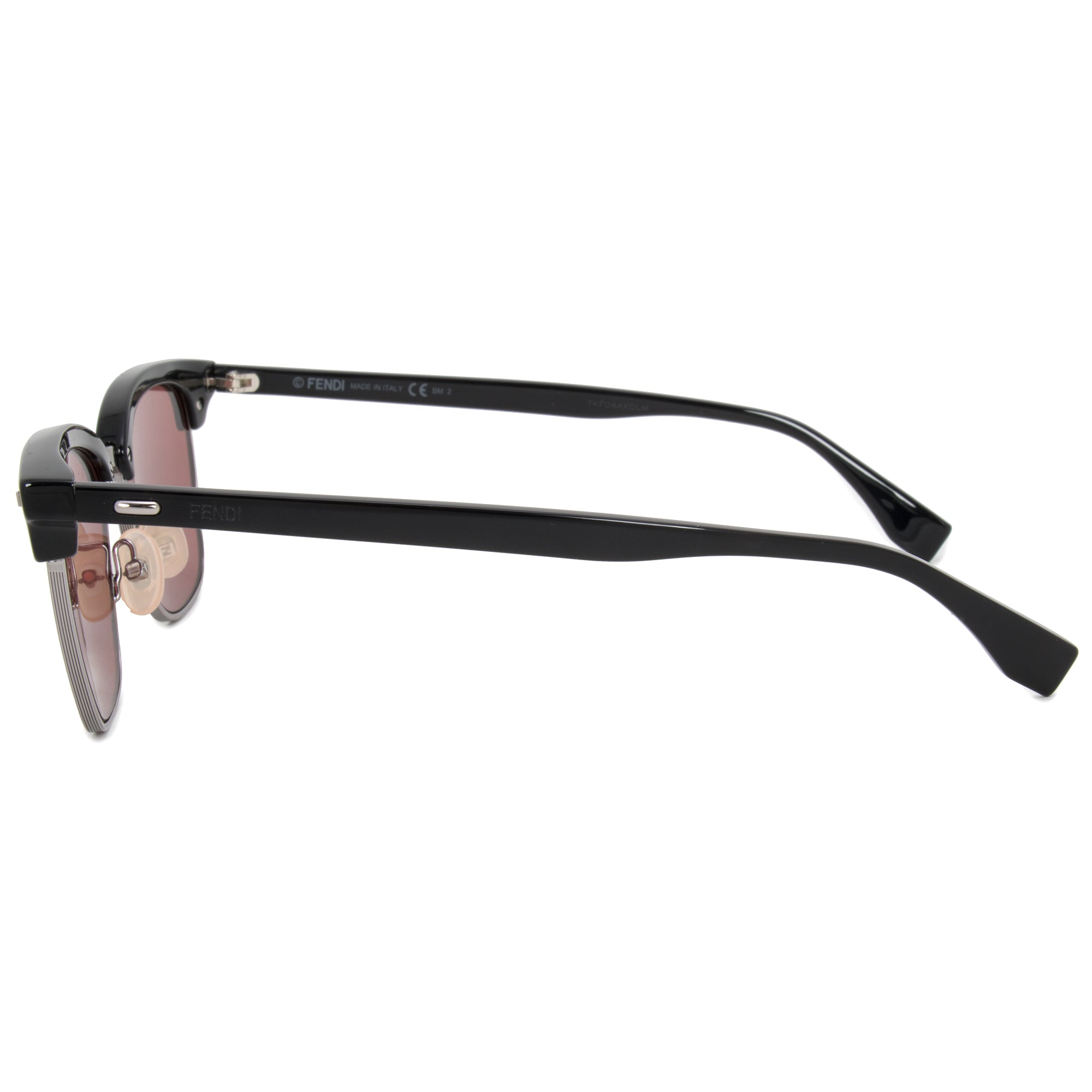 Fendi Browline FFM0003S 807 4S 52 Rectangle Sunglasses