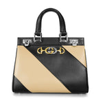 Gucci Zumi Smooth Leather Small Top Handle Bag
