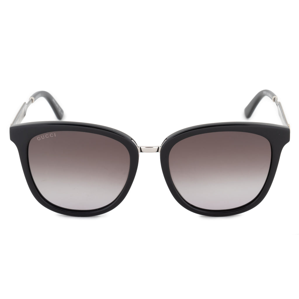 Gucci Gucci Square Sunglasses GG0073S 001 55