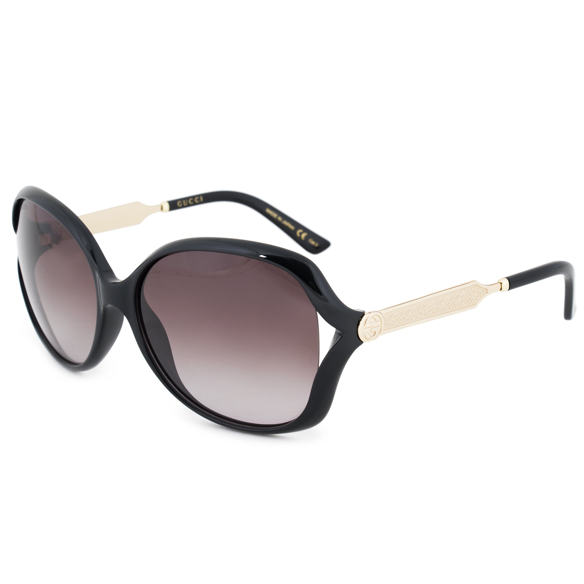 Gucci Butterfly Sunglasses GG0076S 002 60