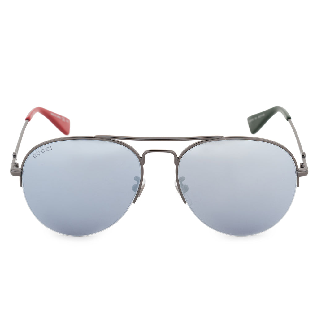 Gucci Gucci Aviator Sunglasses GG0107S 003 56