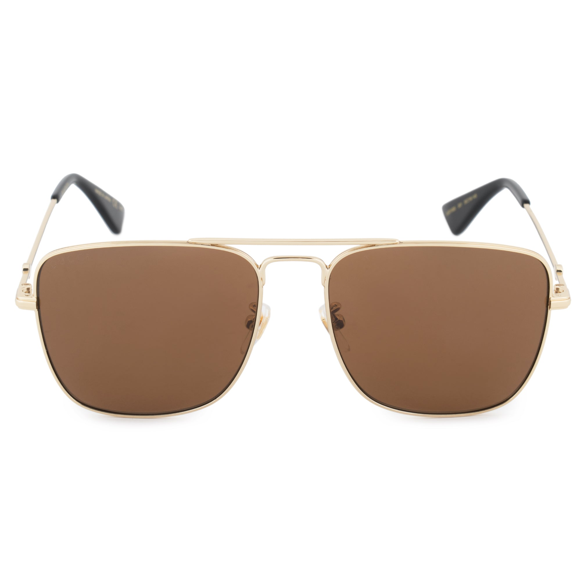 Gucci Gucci Aviator Sunglasses GG0108S 001 55