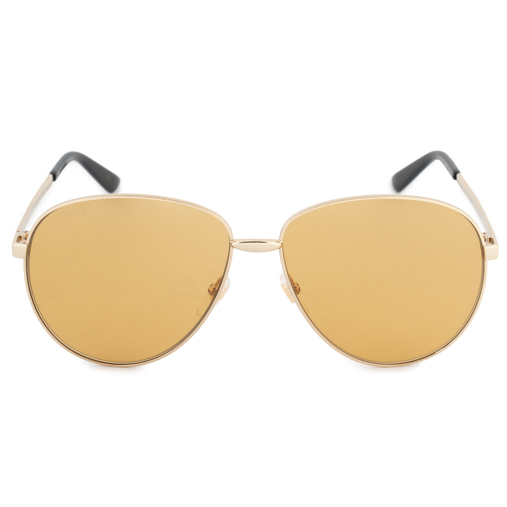 Gucci Gucci Aviator Sunglasses GG0138S 002 61