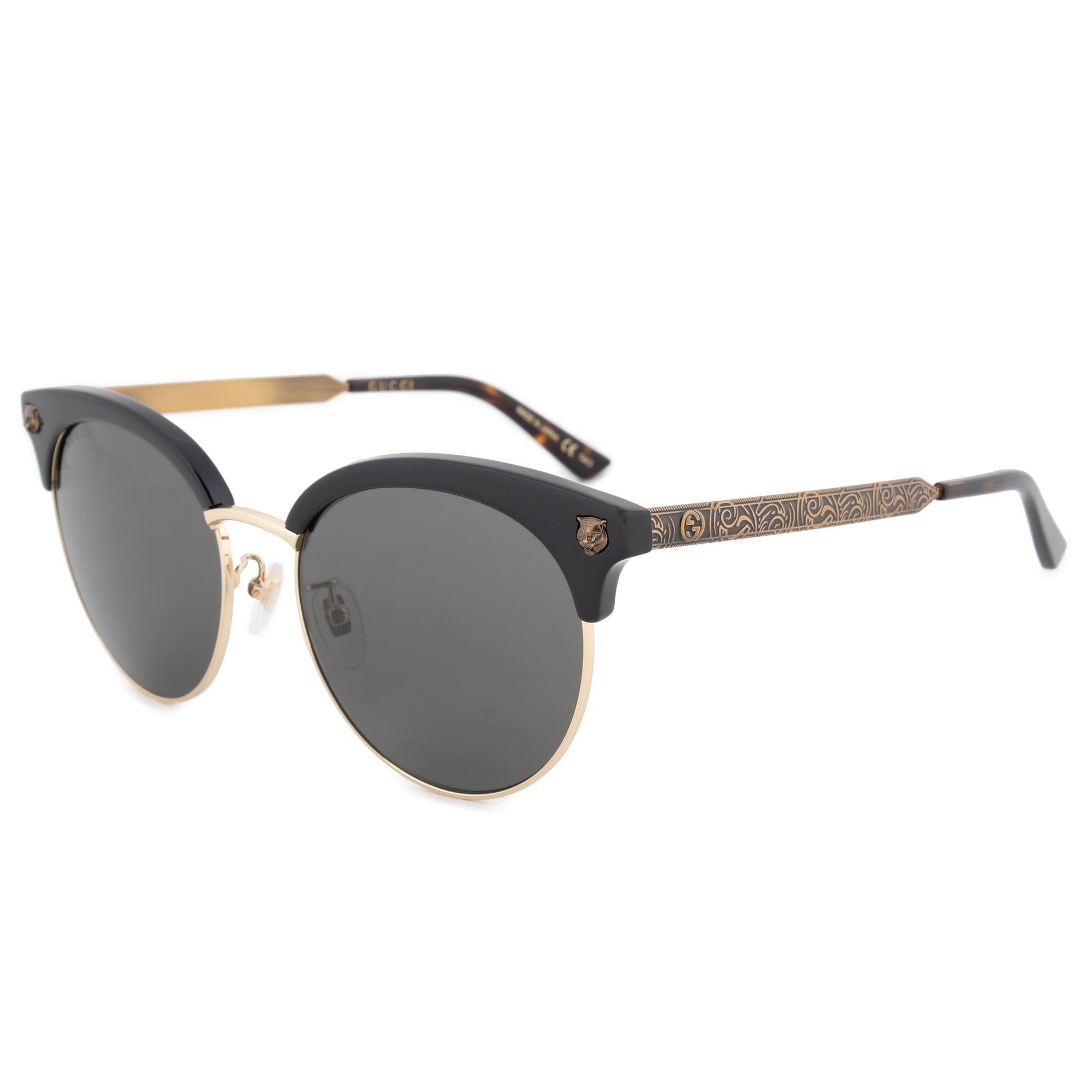 Gucci Gucci Cat Eye Sunglasses GG0222SK 001 56