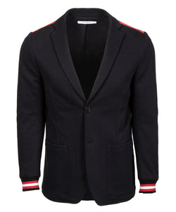 Givenchy Red Striped Blazer | Black