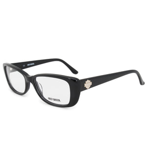 Harley Davidson Cat Eye Eyeglasses Frames HD0521 BLK 53