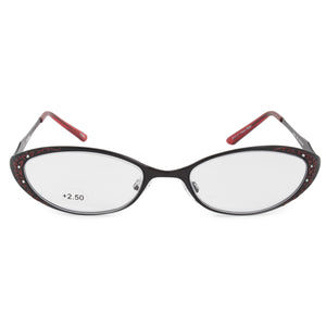 Harley Davidson Oval Reading Eyeglasses HD3011 RD 52 +2.50
