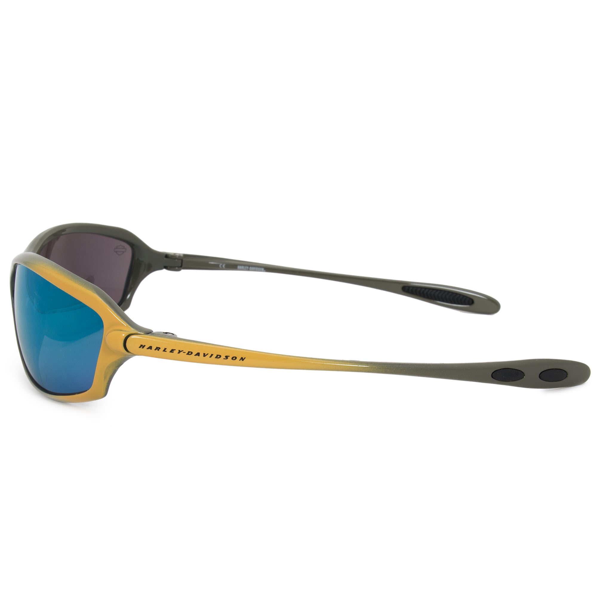 Harley Davidson Rectangle Sunglasses HDS0614 GRY 3F 66