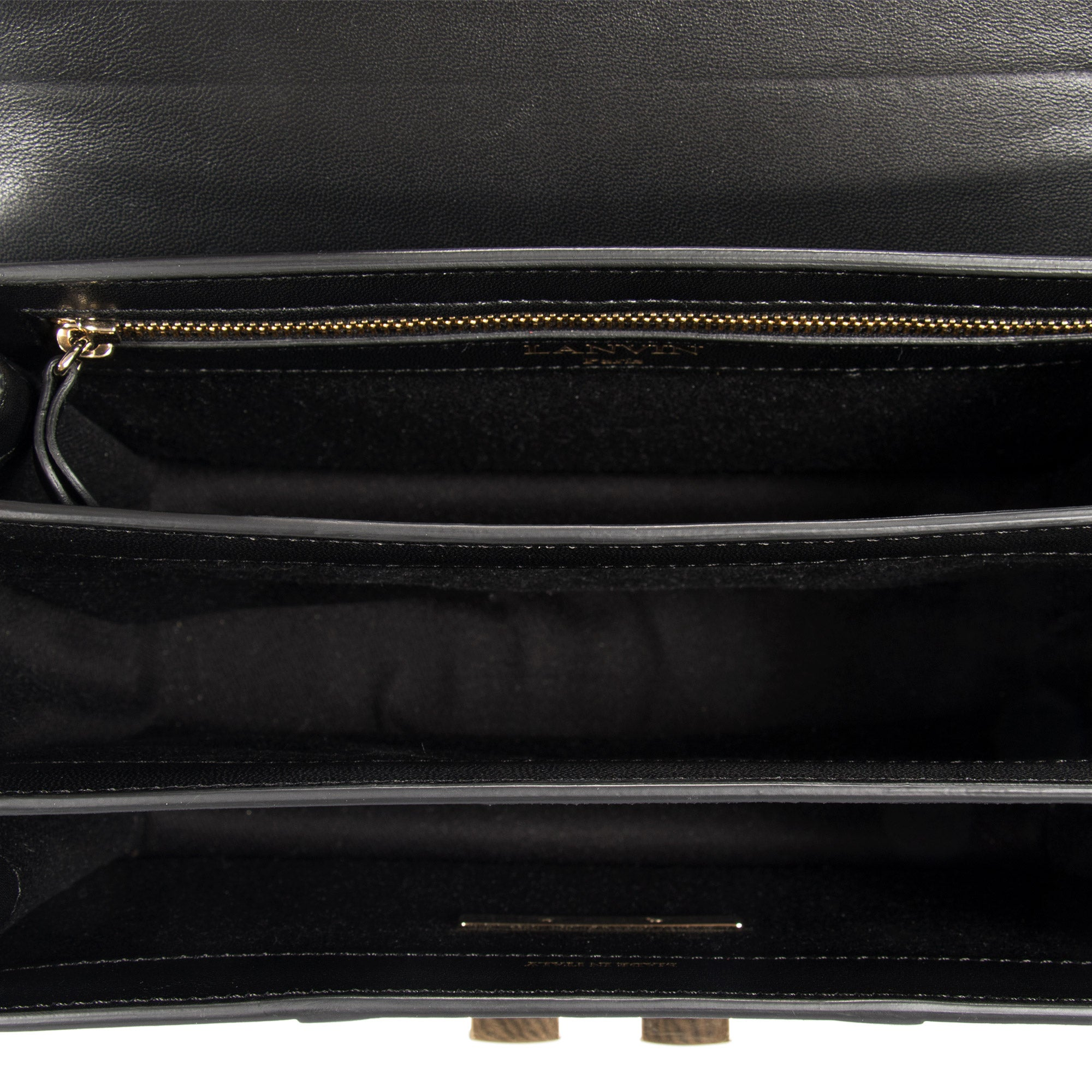 Lanvin Small Black Jiji Shoulder Bag