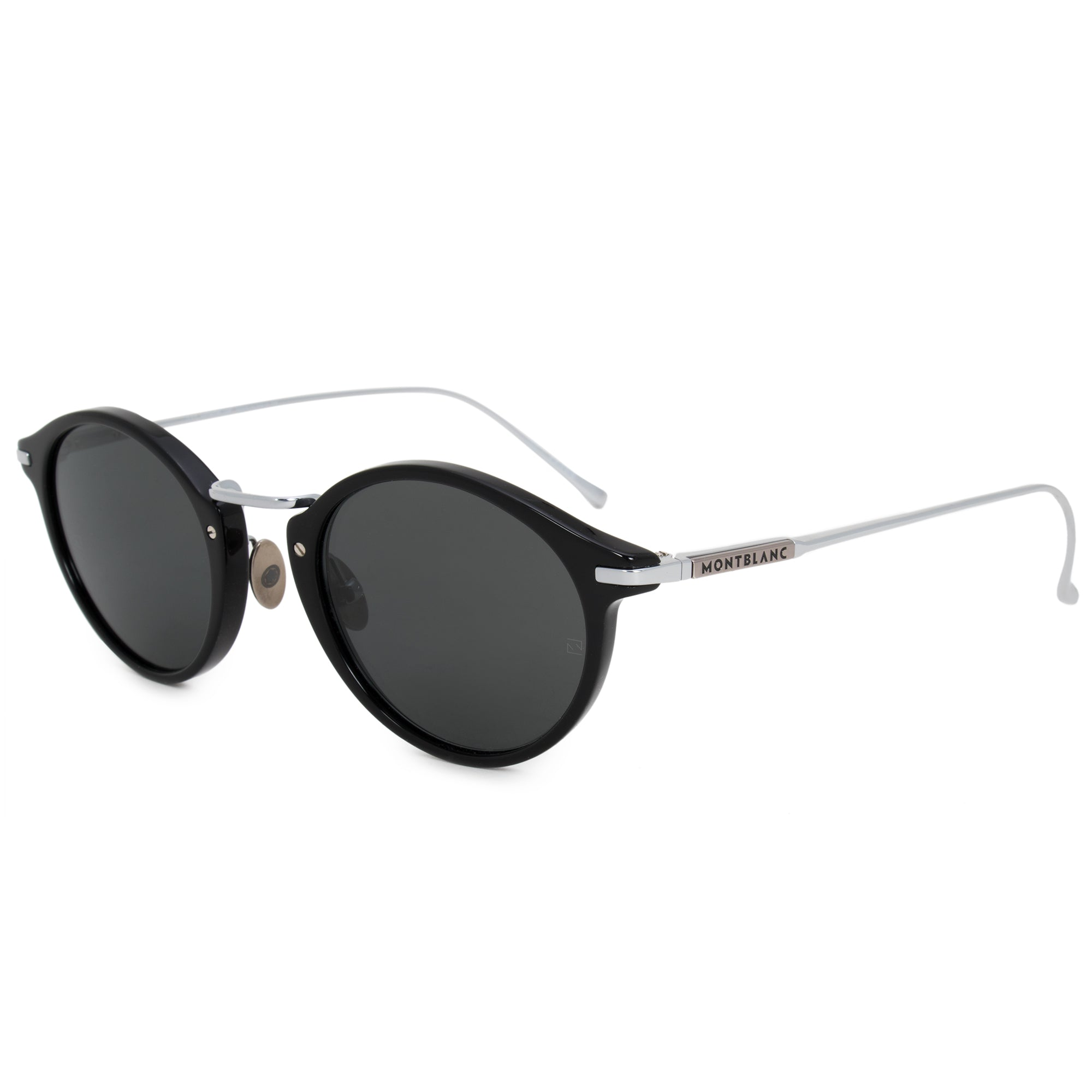 Montblanc Oval Sunglasses MB656S 01A 48