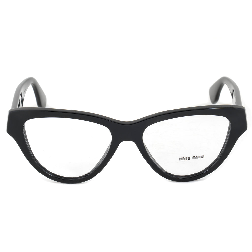 Miu Miu SMU10NVA 1AB1O1 Cat Eye | Black| Eyeglass Frames