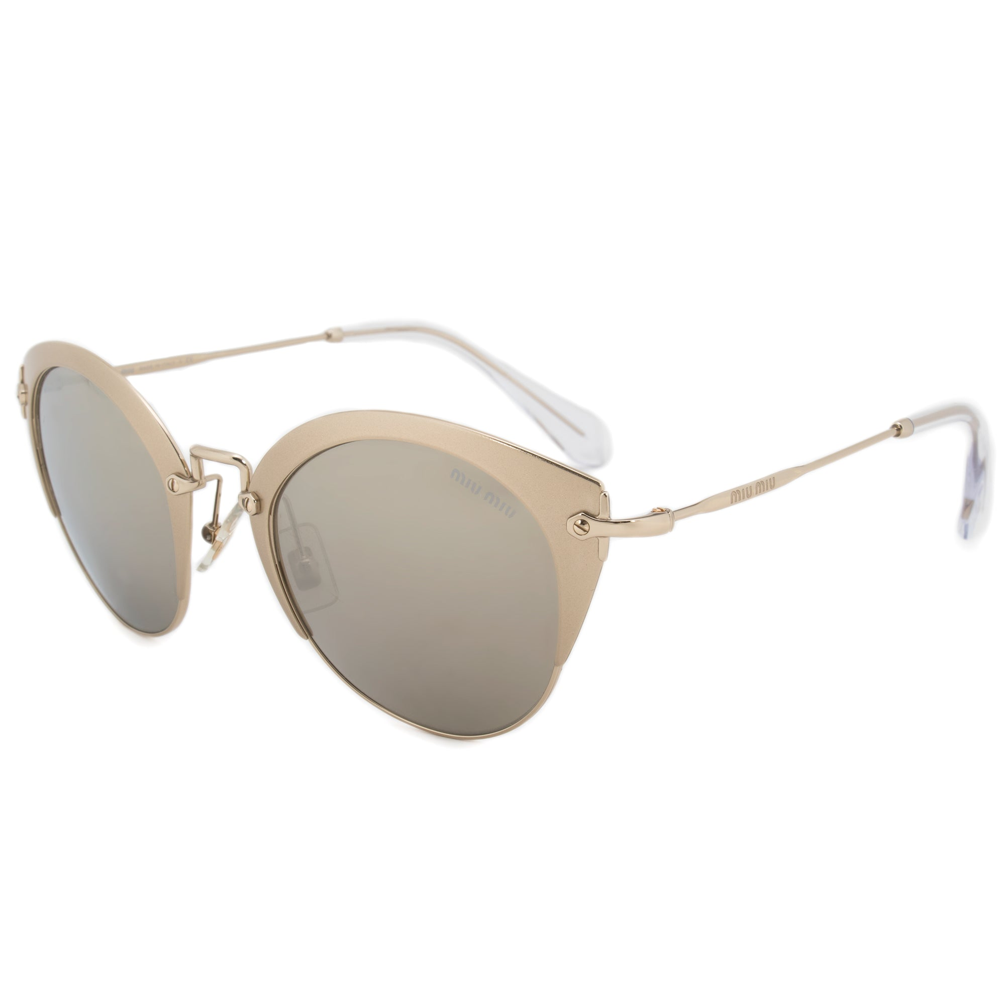 Miu Miu Cat Eye Sunglasses MU53RS VAF1C0 52