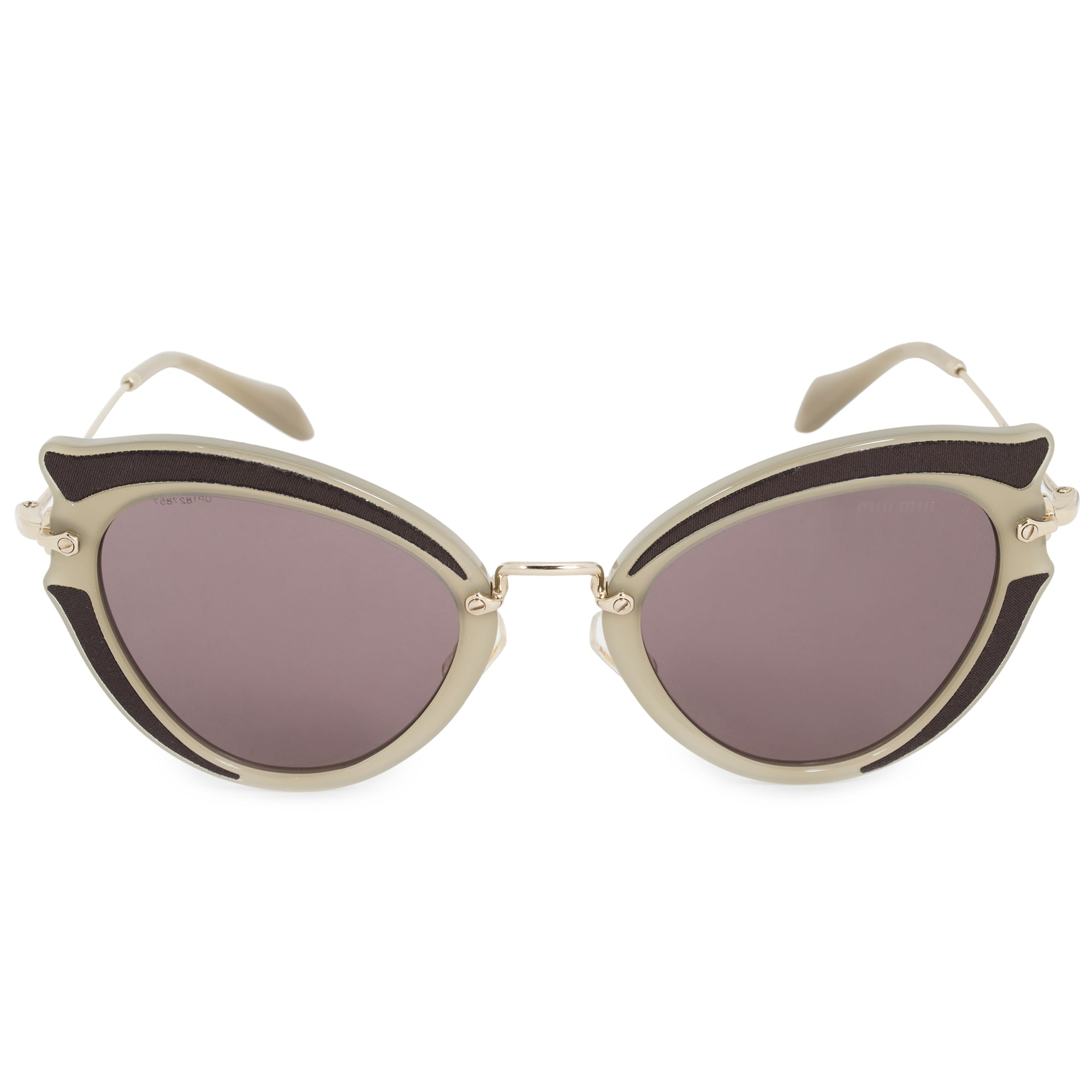 Miu Miu Cat Eye Sunglasses SMU05SS VHY6X1 52
