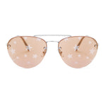 Miu Miu Aviator Sunglasses SMU54US 1BC195 59