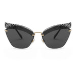 Miu Miu Cat Eye Sunglasses SMU56TS XEJ1A1 63
