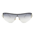 Miu Miu Shield Sunglasses SMU66US ZVN5R0 48
