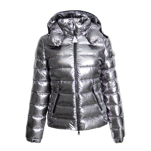 Moncler Bady Fitted Puffer Jacket Size 1 in White